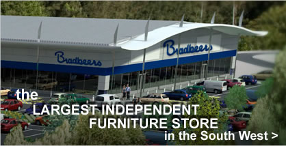 Bradbeers Furniture store - Largest independent Furniture store in the south west
