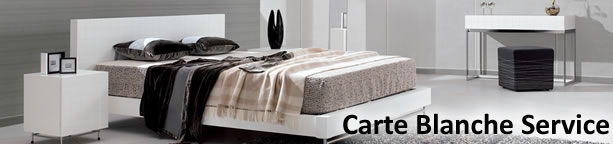 Our Carte Blance Furniture Hire service
