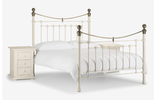 White Metal Bed (Superior Range)